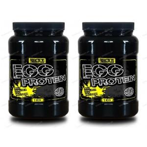 1+1 Zadarmo: EGG Protein od Best Nutrition - Čokoláda / 1,0 kg + 1,0 kg