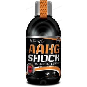 AAKG Shock Extreme - Biotech USA - 1000 ml / Pomaranč