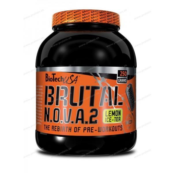 Brutal N.O.V.A. 2 - Biotech USA - 250 g / Citrón-ľadový čaj