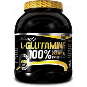 100% L-Glutamine - Biotech USA - 1000 g