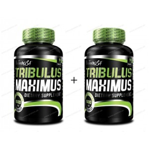 1+1 Zadarmo: Tribulus Maximus - Biotech USA - 90 kaps + 90 kaps
