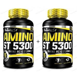 1+1 Zadarmo Amino ST 5300 - Biotech USA - 120 tbl. + 120 tbl.