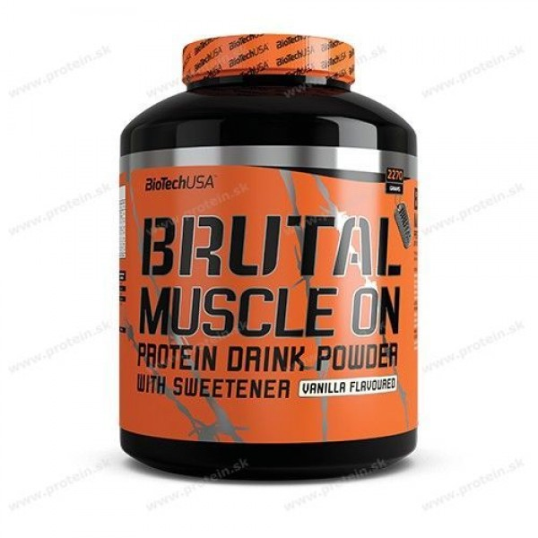 Brutal Muscle ON - Biotech USA - Jahoda / 2270 g