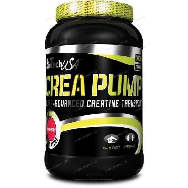 Crea Pump - Biotech USA - 1000 g / Citrón