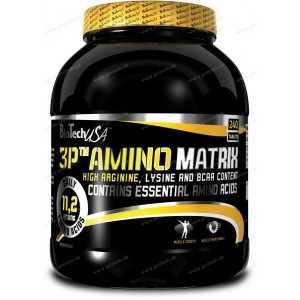 3P Amino Matrix - Biotech USA - 240 tbl.
