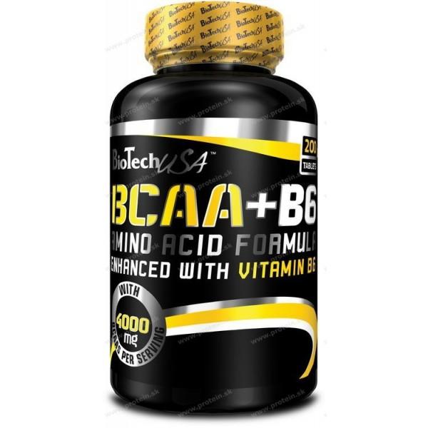 BCAA+B6 - Biotech USA - 340 tbl.
