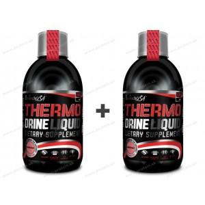 1+1 Zadarmo: Thermo Drine Liquid - Biotech USA - Grep / 500ml+500ml