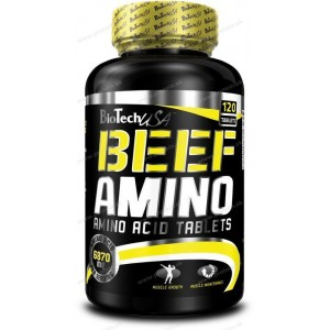 Beef Amino - Biotech USA - 120 tbl.