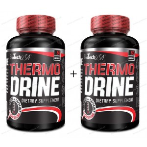1+1 Zadarmo: Thermo Drine - Biotech USA - 60kaps. + 60kaps.