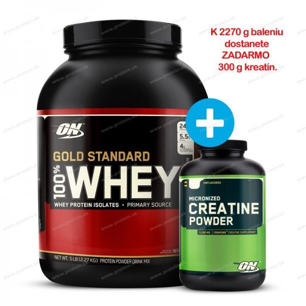 100% Whey Gold Standard Protein od Optimum Nutrition - 2270 g / Banana Cream