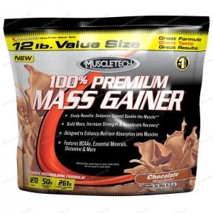 100% Premium Mass Gainer - Muscletech - Čokoláda / 5,4 kg