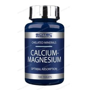 Calcium-Magnesium - Scitec Nutrition - 100 tbl