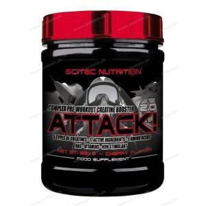 Attack 2.0 - Scitec Nutrition - 25 x 10 g / Hruška