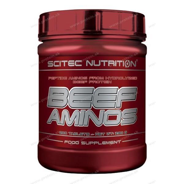 BEEF Aminos - Scitec Nutrition - 500 tbl.