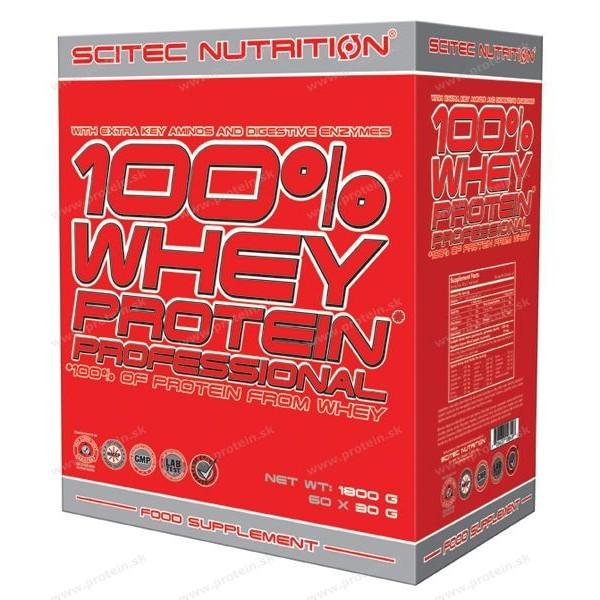 100% Whey Protein Professional nasáčkovaný - Scitec Nutrition - Mix / 30 x 30 g