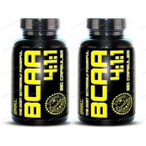 1+1 Zadarmo: BCAA 4:1:1 od Best Nutrition - 120 kaps. +  120 kaps.