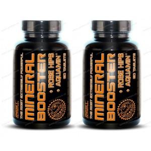 1+1 Zadarmo: Mineral Booster + šípky od Best Nutrition - 60 tbl. + 60 tbl.