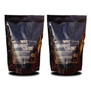 1+1 Zadarmo: Sweet Whey od Best Nutrition - Neutral / 1,0 kg + 1,0 kg