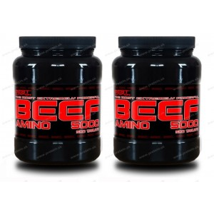 1+1 Zadarmo: Amino BEEF 5000 od Best Nutrition - 250 tbl + 250 tbl