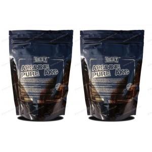 1+1 Zadarmo: Arginine pure AKG od Best Nutrition - 250 g + 250 g