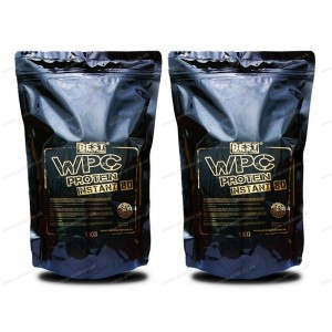 1+1 Zadarmo: WPC Protein 80 INSTANT od Best Nutrition - Neutrál / 1,0 kg + 1,0 kg