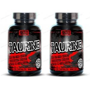 1+1 Zadarmo: Taurine od Best Nutrition - 120 kaps. +  120 kaps.