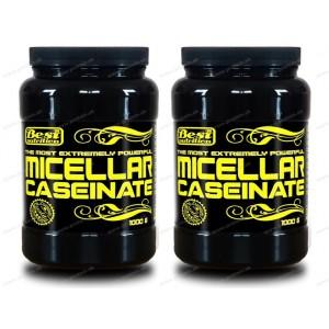 1+1 Zadarmo: Micellar Caseinate od Best Nutrition - Čokoláda / 1,0 kg + 1,0 kg