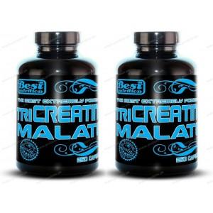 1+1 Zadarmo: TriCreatin Malate od Best Nutrition - 250 kaps. + 250 kaps.