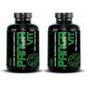 1+1 Zadarmo: Panga Vit od Best Nutrition - 250 tbl. + 250 tbl.