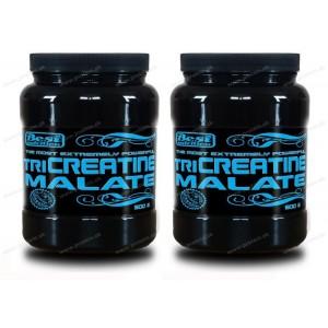 1+1 Zadarmo: TriCreatine Malate prášok od Best Nutrition - Neutrál / 500 g + 500 g