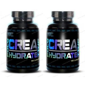 1+1 Zadarmo: Polyhydrate Creatine od Best Nutrition - 120 kaps. + 120 kaps.